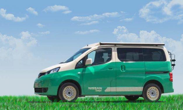Nissan Camper, el vehículo más aventurero