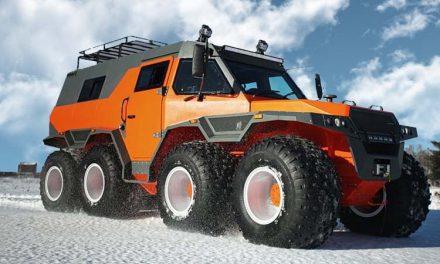Avtoros Shaman, el SUV más grande del mundo