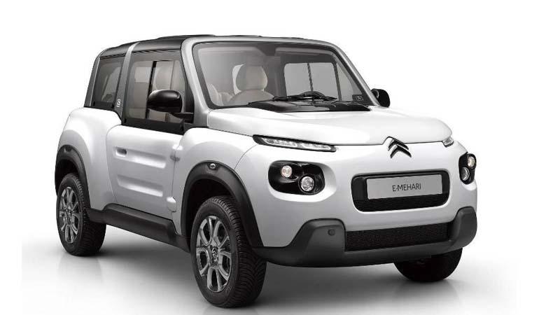 Vuelve el Citroën E-Mehari