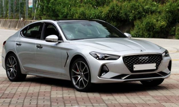Genesis G70 la berlina Premium de Hyundai