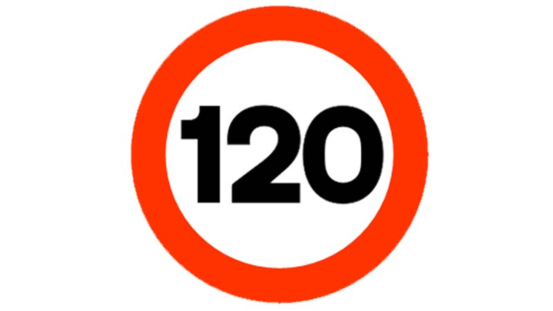 El origen del límite de velocidad 120Km/h