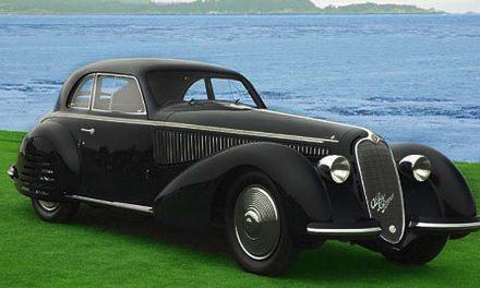 Un Alfa Romeo de 1937 ganador en Peeble Beach