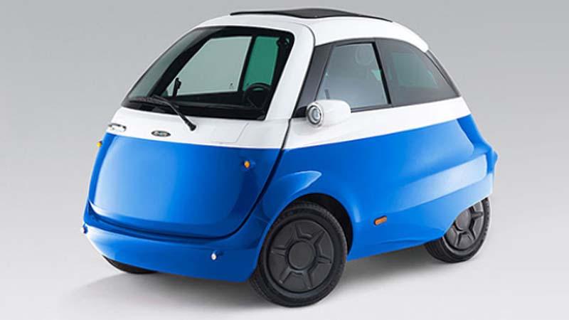 Microlino, el coche eléctrico de ciudad