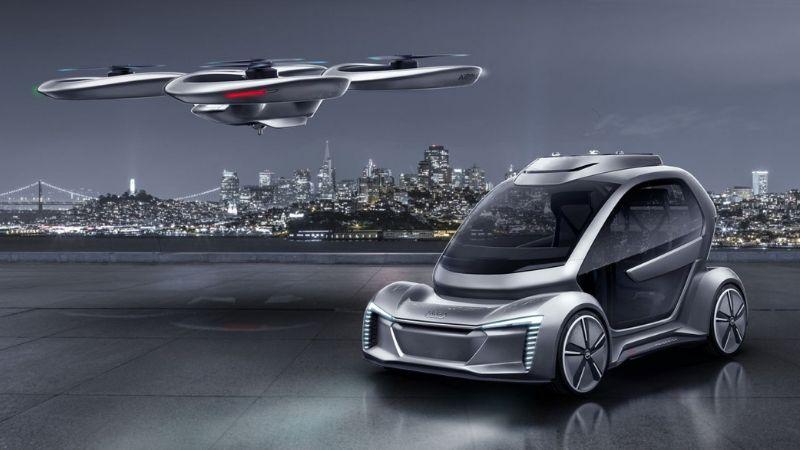 Tierra, mar y aire, así serán los vehículos del futuro