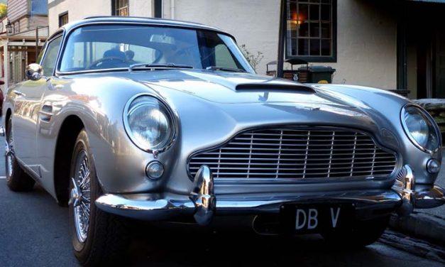 Se producirán 25 unidades del Aston Martin DB5 de James Bond