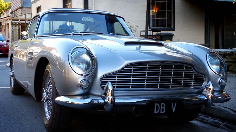 Se producirán 25 unidades del Aston Martin DB5 de James Bond
