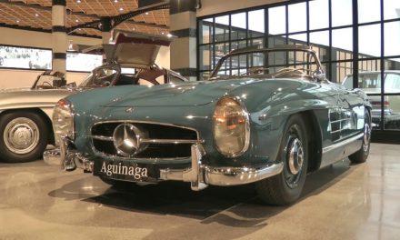 Museo Aguinaga: un homenaje a los modelos históricos de Mercedes Benz