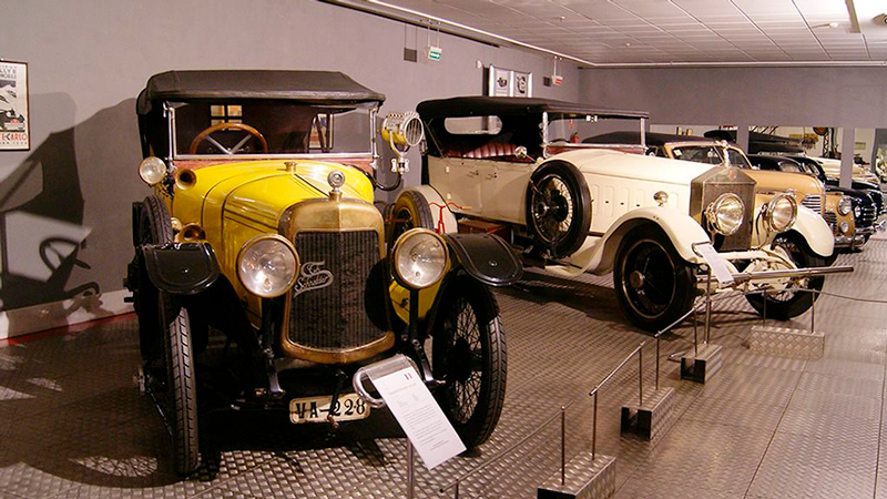 museo de coches en Salamanca