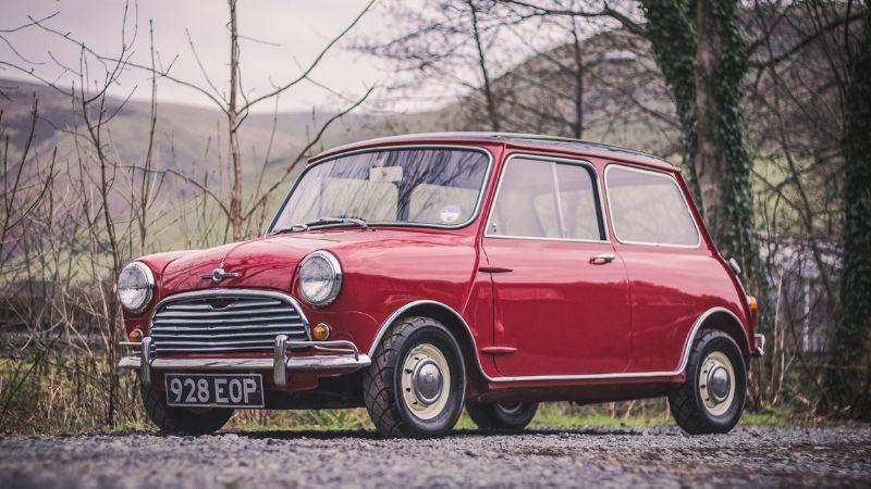 mini copper 1961