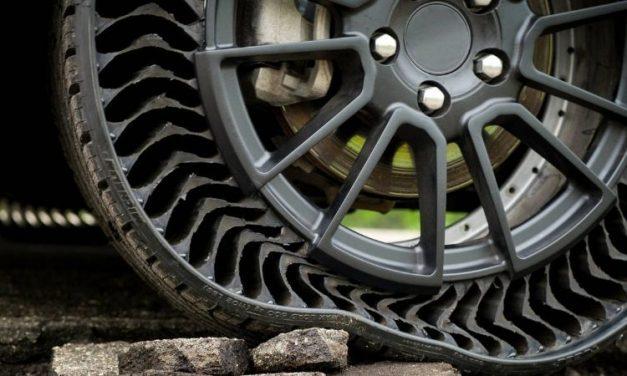 Ya llegaron los neumáticos sin aire para formar parte de una movilidad más ecológica