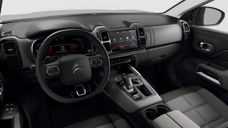 Citroën C5 Aircross 2019 interiores