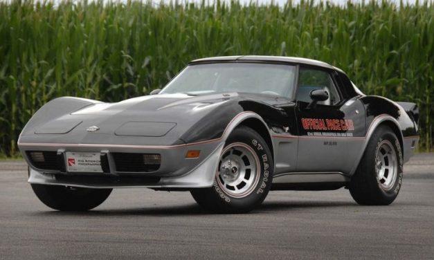 Después de 40 años aparece intacto un Chevrolet Corvette Stingray Edition 1978
