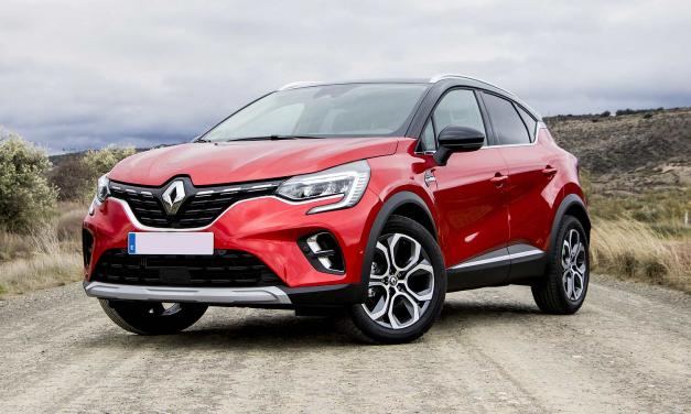 El Renault Captur 2020 y su versión híbrida enchufable